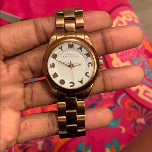 Rise gold Marc by Marc Jacobs watch